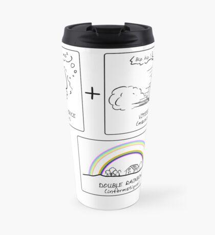Ptilouk.net - Double rainbow Travel Mug