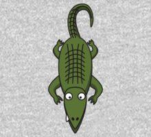 Cartoon Alligator Kids Tee