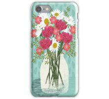 Vase of Daisies illustration Mother's Day art print Andrea Lauren Floral flowers spring summer garden iPhone Case/Skin