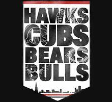 Chicago 4 Sport Men's Baseball ¾ T-Shirt