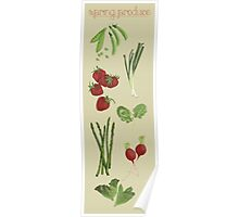 Spring Produce Poster