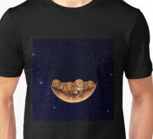 Dogue De Bordeaux on the Moon Unisex T-Shirt