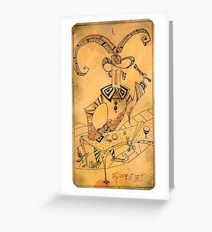 The Magician - Major Arcana Greeting Card