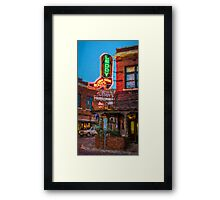Leddy's Boots Framed Print