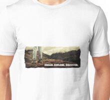 Dream Explore Discover Live Unisex T-Shirt