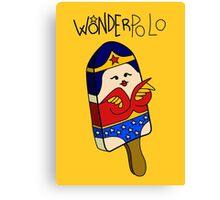 Wonderpolo Canvas Print