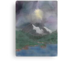 Misty afternoon Canvas Print
