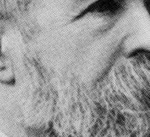 Friedrich Engels Beard Sticker