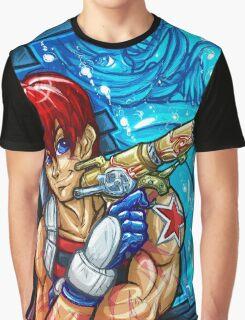 Outlaw Star - Gene & Melfina Graphic T-Shirt