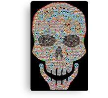 Crâne Canvas Print