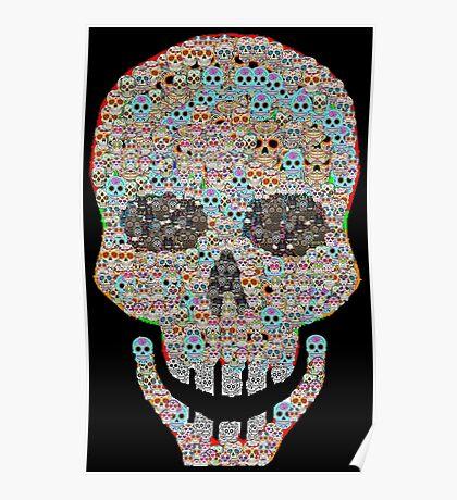 Crâne Poster