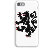 28th Infantry Black Lions iPhone Case/Skin