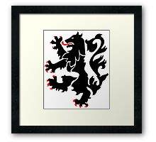 28th Infantry Black Lions Framed Print