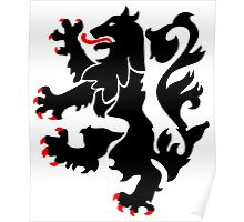 28th Infantry Black Lions Poster