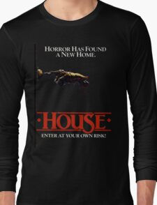 HOUSE (1986) Long Sleeve T-Shirt