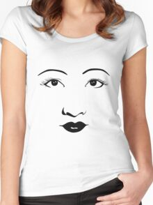 Old Hollywood - Anna May Wong Women's Fitted Scoop T-Shirt