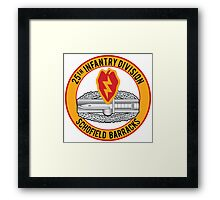 25th Infantry CAB Framed Print