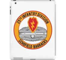 25th Infantry CAB iPad Case/Skin