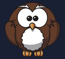 Cartoon Owl Kids Tee