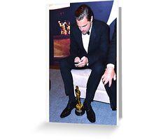 Proud Leo Greeting Card