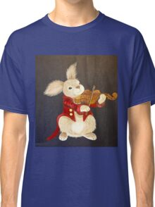 BUNNY AND VIOLIN Classic T-Shirt