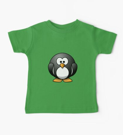 Cartoon Penguin Baby Tee