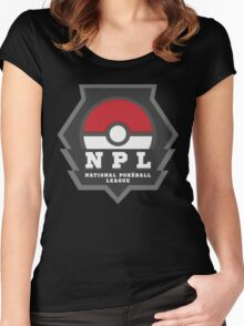National PokeBall League - NPL Women's Fitted Scoop T-Shirt