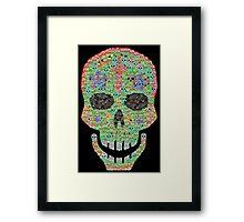 Crâne 2 Framed Print