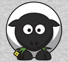 Cartoon Sheep One Piece - Short Sleeve