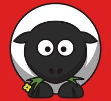 Cartoon Sheep Kids Tee