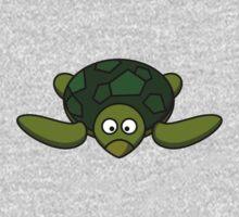 Cartoon Turtle Kids Tee