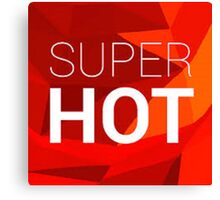 Super Hot - The Game - Images Canvas Print