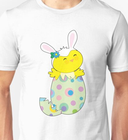 Easter Bunny Chick Unisex T-Shirt
