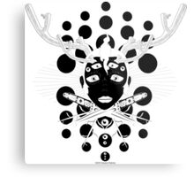A Sigil for the Morning, a Sigil of Warning Metal Print