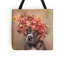 Flower Power, PeaPod Tote Bag