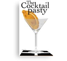 The Cocktail Pasty - 'ansome Canvas Print
