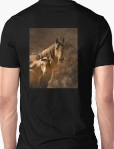 Mare with filly Unisex T-Shirt
