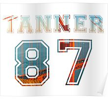 Tanner Varsity Poster
