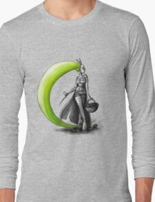Rainbow Punk: Electrolime Grenade Long Sleeve T-Shirt
