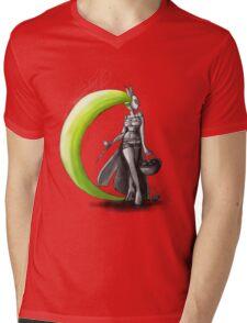 Rainbow Punk: Electrolime Grenade Mens V-Neck T-Shirt