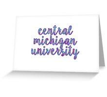 Central Michigan University Greeting Card