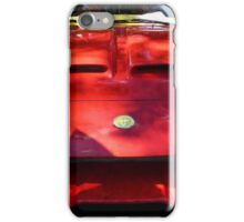 Red Car In Dappled Sunshine iPhone Case/Skin