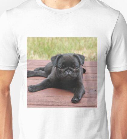 ALERT PUG PUPPY Unisex T-Shirt