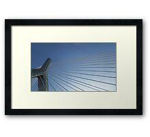 Boston Bridge Framed Print