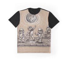 Dance Party in Space Graphic T-Shirt