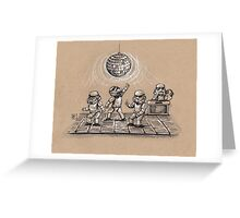 Dance Party in Space Greeting Card