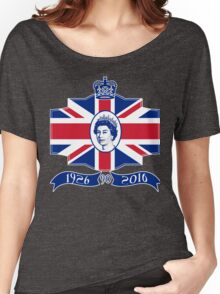 Queen Elizabeth 90th Birthday Women's Relaxed Fit T-Shirt