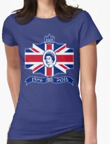 Queen Elizabeth 90th Birthday Womens Fitted T-Shirt