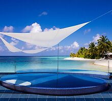 Luxury resort in the Maldives by Atanas NASKO