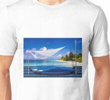 Luxury resort in the Maldives Unisex T-Shirt